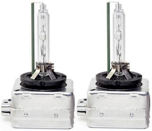 D1S 5000K HID Xenon Bulbs Set 2x Headlight Replacement Lamps 12V 35W Warm White