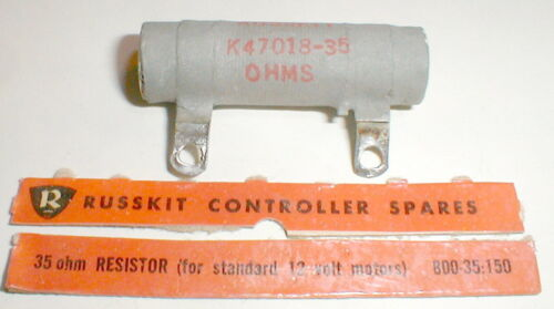 Russkit Slot Car 35 Ohm Rheostat Resistor for Hand Controller K47018-35 ohm NOS