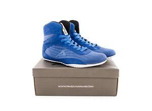 0958898cb3b6fc PIMD Flat Soled Hi-Top Blue Weight Lifting Gym X-Core V2 Boots