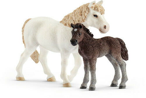 Pony Mare And Foal - Schleich (Toy New)