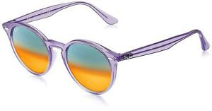 b06236cf2f Image is loading Authentic-RAY-BAN-RB2180F-6280A8-Sunglasses-Violet-Orange-