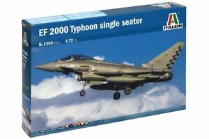 ITALERI-1355-1-72-EF-2000-Typhoon-single-seater