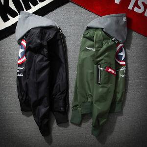 Jacket MA1 Force Pilot Flight Air Bomber Nasa Coat Mens Womens 1Xaa5q
