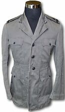 WW2 US Navy Officer's Gray Cotton/Canvas Working Jacket - Ensign Shoulder Boards