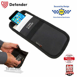Details about Faraday Defender Signal Blocker Mobile Phone Car key fob  Signal Jamming pouch
