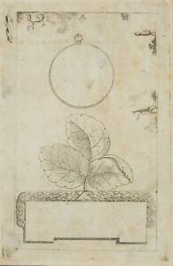 Chodowiecki (1726-1801). tirarle su una piastra incompiuto; pressione grafico 1