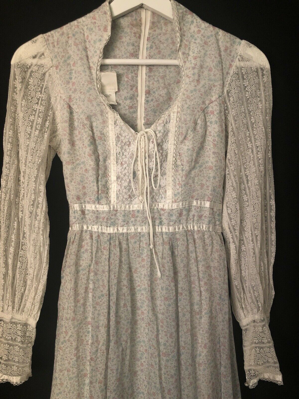 1970s Gunne Sax by Jessica Authentic Victorian Ba… - image 5