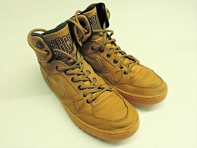 NIKE Suede Brown Men's Son of Force Mid
