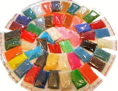 Rocailles 3mm Perlen 25 Pack Set 8500stk Schwarz Weiss