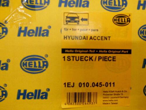 1.5 CRDi   Hauptscheinwerfer links 1EJ 010 045-011 Hyundai Accent II 1.3 1.5