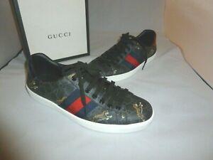 Gucci Ace GG Supreme tigers sneaker SZ