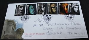 2003-Royal-Mail-The-British-Museum-FDC-First-Day-Covers-KM-Coins