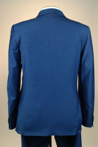 38S SAVILE ROW Indigo Blue SUIT SEPARATE  38 Short Mens Suits SS45