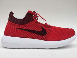 Nike Mens Roshe Two Flyknit V2 Red 918263 600 (SIZE: 12)