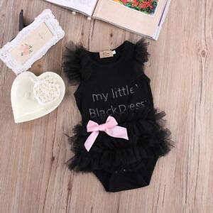 b67907d0bbead Details about Newborn Baby Girl Infant Romper Jumpsuit Sunsuit Outfit  Clothes Bow-knot Lot Q