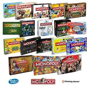NEW-MONOPOLY-COLLECTORS-SPECIAL-EDITION-BOARD-GAME-28-OPTIONS-TO-CHOOSE