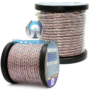 2 monster cable 100 foot rolls 200 feet speaker wire home theater or car audio ebay. Black Bedroom Furniture Sets. Home Design Ideas