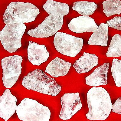 5 kg Bergkristall Rohsteine Wassersteine Edelsteine rock crystal cristal de roca