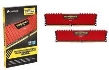 CORSAIR Vengeance LPX 16GB (2 x 8GB) 288-Pin DDR4 2400 (PC4-19200) Desktop [RED]