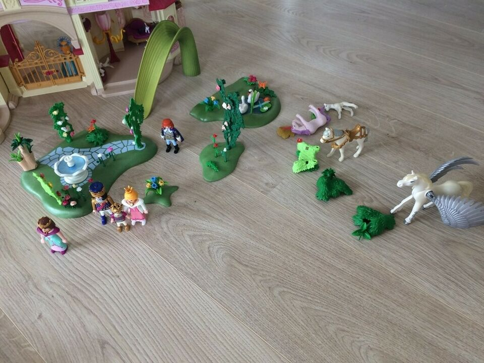 Prinsesse, Princesseslot mm, playmobil
