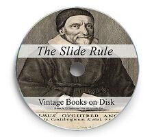 103 Slide Rule Rare Books Manuals on DVD Ruler Circular Calculator Maths 247