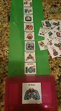Boy POP-OUT Envelope PECS Visual Schedule Kit Aprexia-Autism-Language-ADHD