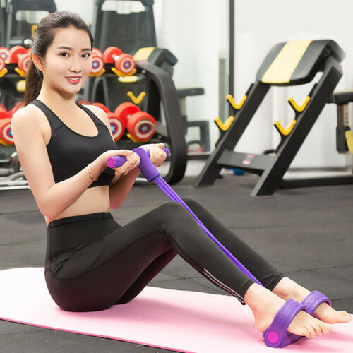 Random Color Pedal Resistance Band Elastic Pull Rope GYM Equip For Yoga