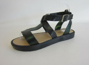 Bar Sandal F1r0444 metallict Woman On Nero Spot r22d Low Strips IHPXx0Wnn