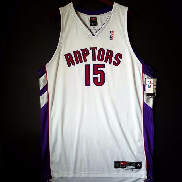 8fd92b9a4 100% Authentic Vince Carter Nike Toronto Raptors NBA Pro Cut Home Jersey