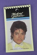Michael Jackson - Original Unused Memo Note Pad 1984