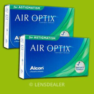 AIR OPTIX ASTIGMATISM TORIC 2x 6 KONTAKTLINSEN MONATSLINSEN ALCON (±STÄRKEN)