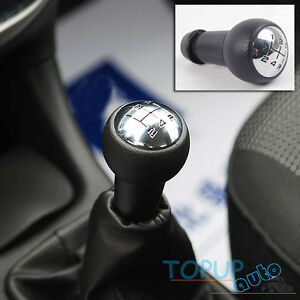 5 Speed Gear Shift Knob Stick & Lever Adapter For Peugeot ...