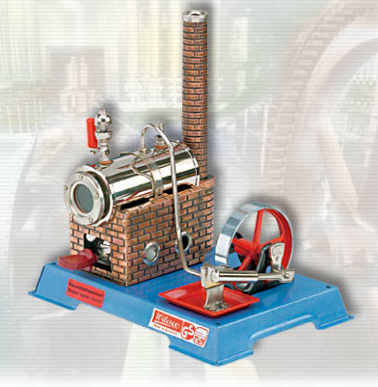 Au-special: Wilesco D5 Toy Steam Engine Kit New See Video Made In Germany