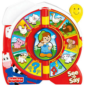 8ca203f445a42 Image is loading Fisher-Price-Classic-Farmer-Says-See-N-Say