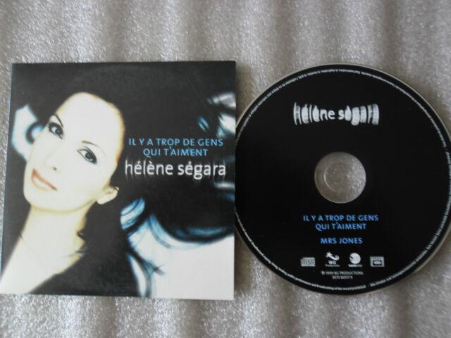 CD-HELENE SEGARA-IL Y A TROP DE GENS QUI T'AIMENT-JONES-(CD SINGLE)-1999-2 TRACK