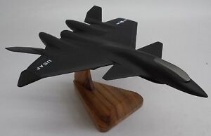 Leasath-Fenrir-Ace-Combat-Aircraft-Desk-Airplane-Wood-Model-Small-New