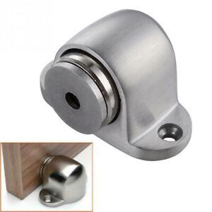 Details About Stainless Steel Magnetic Floor Mount Hidden Door Stop Stopper  Catch Holder NP2