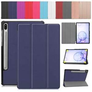 Custodia-per-Samsung-Galaxy-Tab-S6-10-5-034-SM-T860-T865-Tablet-PU-Pelle-Flip-Cover