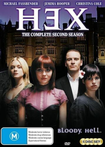 1 of 1 - Hex : Season 2 (DVD, 2015, 5-Disc Set) [BRAND NEW]