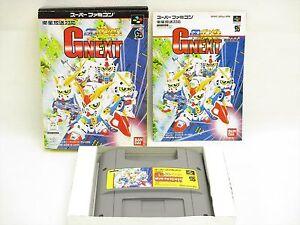 SD-GUNDAM-GNEXT-G-NEXT-Super-Famicom-Nintendo-Bandai-Japan-Video-Game-sf