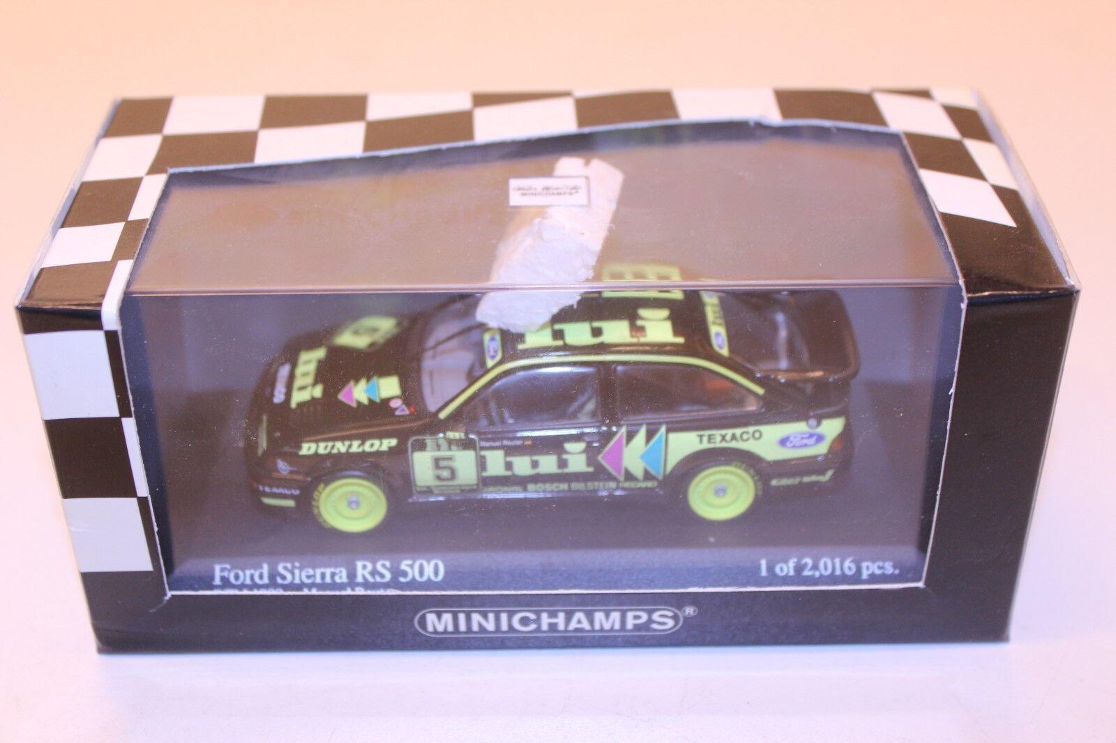 Minichamps Ford Sierra Rs 500 Lui M. Reuter DTM 1988 1 43