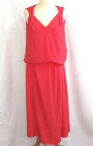 Des Eccellente Lungo Cotonniers Tintel T 38 Fluido Comptoir Rosa Vestito Modello Bx7wBdU