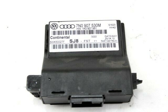 7N0907530M ECU Gateway Volkswagen Golf 1.4 90KW 5P B 6M (2012) Remplacement U