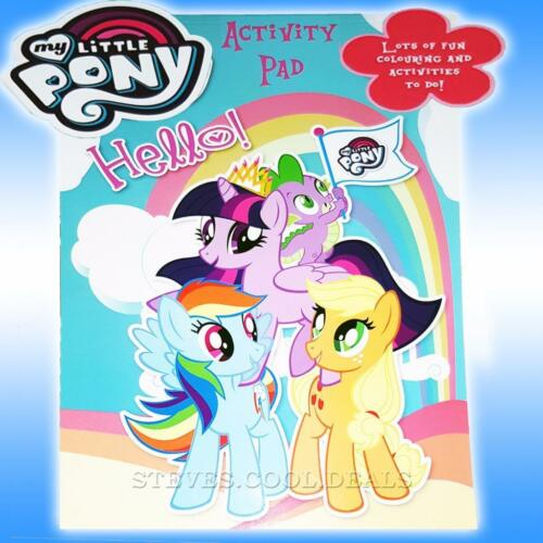 My Little Pony Activity Pad Cute FUN colouring sheets Puzzles Tasks Games /& more