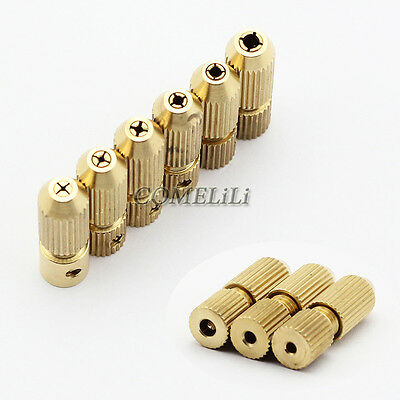2 2.3 3.17mm Micro Drill Bit Collet Clamp Fixture Chuck 0.7-3.2mm Electric Motor
