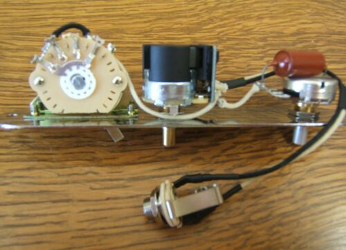 Control Plate//Harness for Fender Telecaster 3-way plus DIRECT OUTPUT!