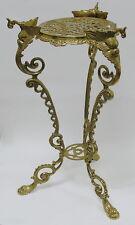 Blumenständer Messing 57x27 Antik Beistelltisch Telefontisch Gold Barock