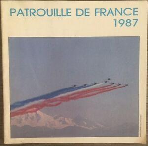 Plaquette-Patrouille-de-France-1987-signee