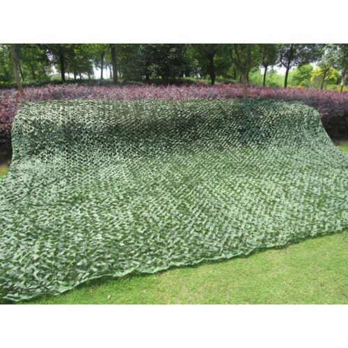 Woodland Camouflage Netting Military Army Camo Hunting Shooting Hide Cover Net N