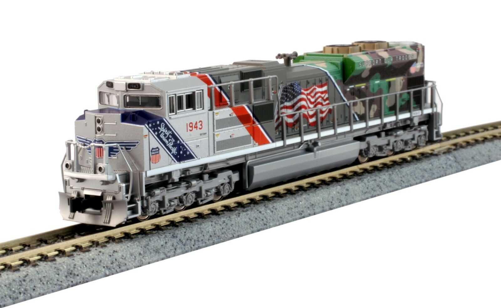 SCALA NKato 1761943 Union Pacific SD70ACe THE Spirit   1943 DCC READY